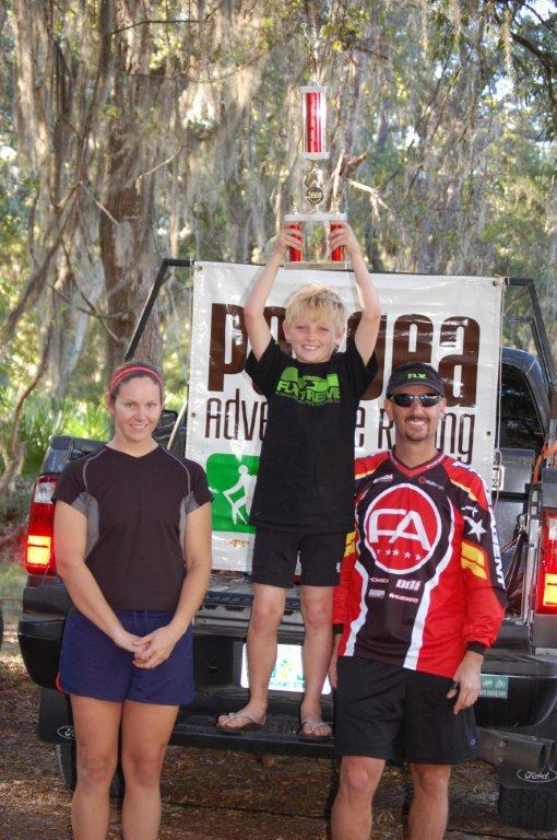 Hunter Leininger finishes Lighter Knot 8 Hour Adventure Race
